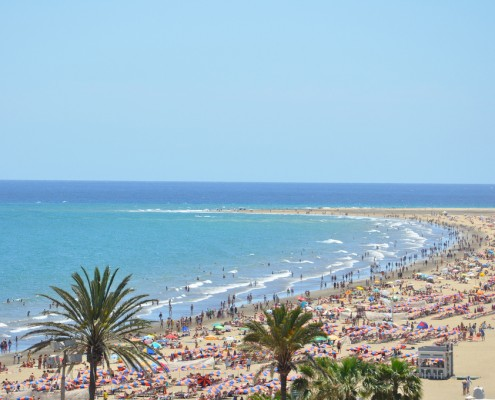 Playa del Ingles, Gran Canaria Crédit photo Marco Verch / Flickr