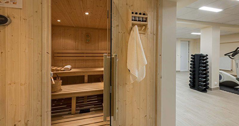Sauna & salle de sport