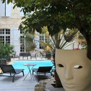Jardin hotel particulier Guilhon Gers