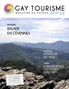 Couverture Magazine Gay sejour 2019