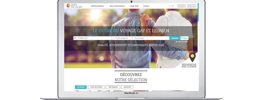 Nouveau site Gay Sejour