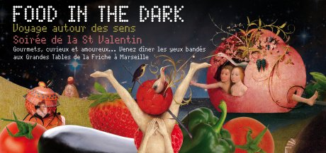 Concept food in the dark gay tourisme magazine - Les grandes tables de la friche ...